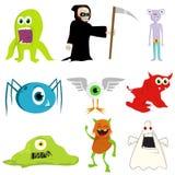 Ilustración de monstruos stock de ilustración