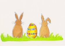 Ilustración de Pascua Fotografía de archivo