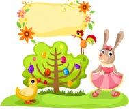 Ilustración de Pascua Imagenes de archivo