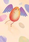 Ilustración de Pascua Imágenes de archivo libres de regalías