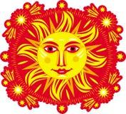 Ilustración de Sun.Vector ilustración del vector