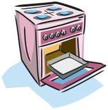 Ilustración de una estufa Fotografía de archivo