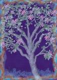 Ilustración del árbol de la pasión Imágenes de archivo libres de regalías