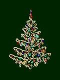 Ilustración del árbol de navidad Foto de archivo