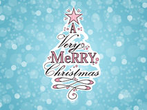 Ilustración del árbol de navidad ilustración del vector