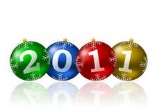 ilustración del Año Nuevo 2011 ilustración del vector