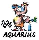 Ilustración del acuario Libre Illustration