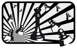 Ilustración del ajedrez Fotos de archivo