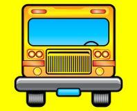 Ilustración del autobús escolar Fotos de archivo