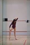 Ilustración del ballet dancer Imagen de archivo libre de regalías