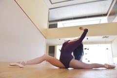 Ilustración del ballet dancer Imagen de archivo