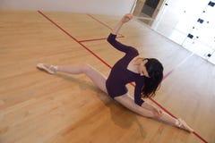 Ilustración del ballet dancer Imágenes de archivo libres de regalías