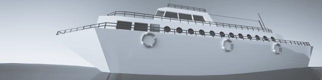 Ilustración del barco Imagenes de archivo