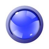 Ilustración del botón del Web Fotos de archivo