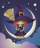Ilustración del cabrito de la bruja Imagen de archivo libre de regalías