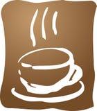 Ilustración del café Foto de archivo libre de regalías