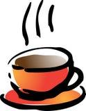 Ilustración del café Imágenes de archivo libres de regalías
