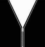 Ilustración del cierre relámpago Foto de archivo libre de regalías