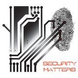Ilustración del concepto de la seguridad Foto de archivo