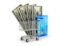 Ilustración del concepto de las compras Imagenes de archivo