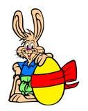 Ilustración del conejito de pascua