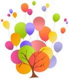 Ilustración del cumpleaños ilustración del vector