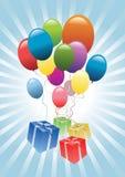 Ilustración del cumpleaños Imagen de archivo libre de regalías