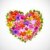 Ilustración del día del `s de la tarjeta del día de San Valentín Fotos de archivo