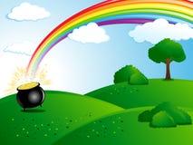 Ilustración del día del St. Patrick stock de ilustración