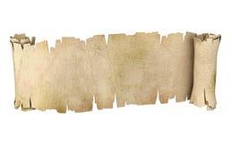 Ilustración del desfile 3d del pergamino Imágenes de archivo libres de regalías