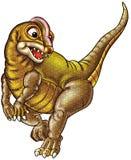 Ilustración del dinosaurio Imagenes de archivo