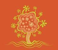 Ilustración del diseño de la textura del árbol libre illustration