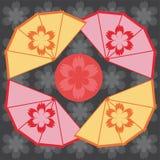 Ilustración del estilo japonés Foto de archivo