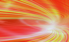 Ilustración del fondo de la tecnología, velocidad abstracta Fotografía de archivo libre de regalías