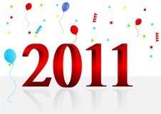 Ilustración del fondo del Año Nuevo libre illustration