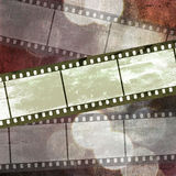 Ilustración del fondo del arte de la película de la vendimia stock de ilustración