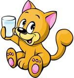 Ilustración del gato Fotografía de archivo