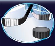 Ilustración del hockey sobre hielo. Fotos de archivo libres de regalías
