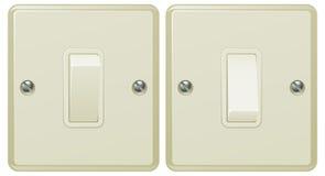 Ilustración del interruptor ligero Imagen de archivo libre de regalías