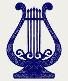 Ilustración del lyre Fotografía de archivo