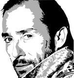 Ilustración del músico stock de ilustración