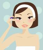 Ilustración del maquillaje Imágenes de archivo libres de regalías