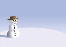 Ilustración del muñeco de nieve Imagenes de archivo