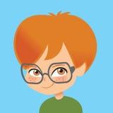 Ilustración del muchacho de los niños en todo el mundo ilustración del vector