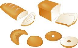 Ilustración del pan Fotografía de archivo libre de regalías