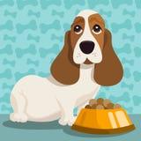 Ilustración del perro Fotografía de archivo libre de regalías