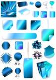 Ilustración del rectángulo de regalo Imagenes de archivo