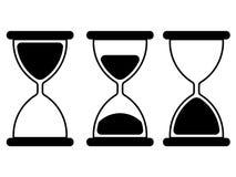 Ilustración del reloj de arena