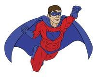 Ilustración del super héroe Foto de archivo