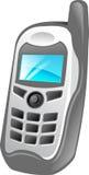 Ilustración del teléfono celular stock de ilustración